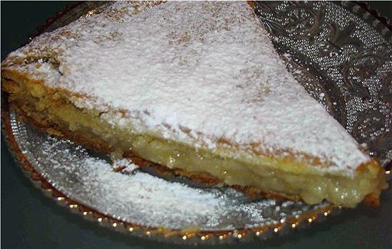 Торт с лимонной начинкой