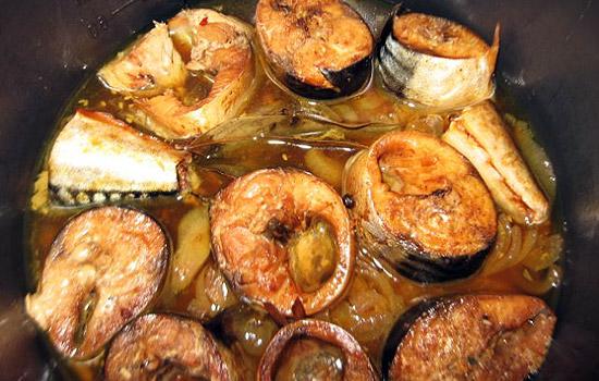 Скумбрия тушёная в мультиварке рецепты с фото с картошкой