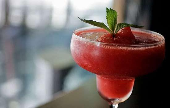 Напиток клубничный