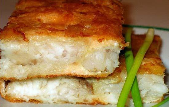 Рыба под сыром