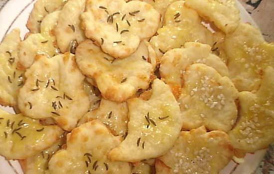 Сырное печенье с горчицей