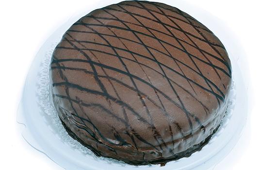 Торт Вечерний с маком и шоколадной помадкой