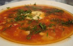 Рыбный суп с рисом