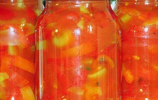 Консервированный сладкий болгарский перец