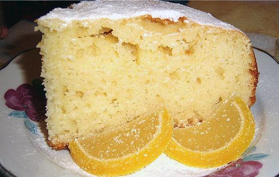 Манный торт