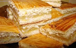 Пирог с цитрусовой начинкой