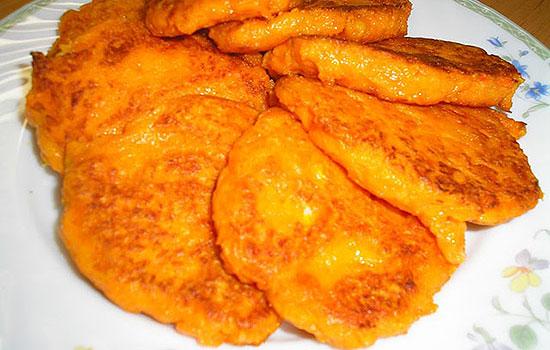 Морковно-картофельные котлеты