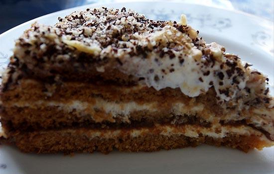 Торт Вечер со сметанным кремом