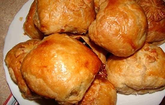 Пирожки закусочные с мясом