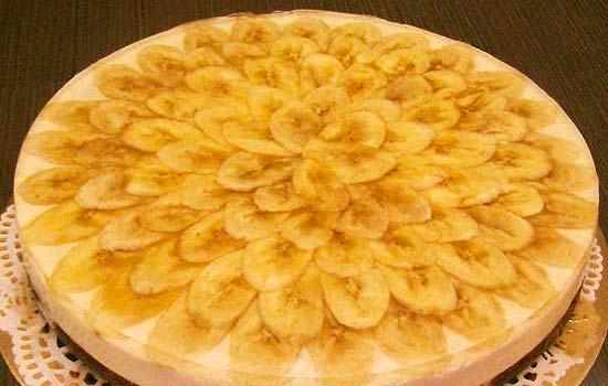 Банановый торт с коржами с фото