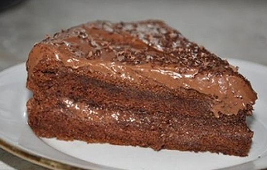 Торт шоколадный на сгущенном молоке