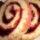 Бисквитный рулет с черносмородиновым джемом