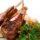 Бараньи отбивные с овощами на гриле
