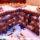 Медовик с черносливом, курагой и орехами