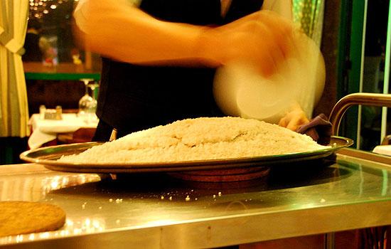 Запекание рыбы в соли