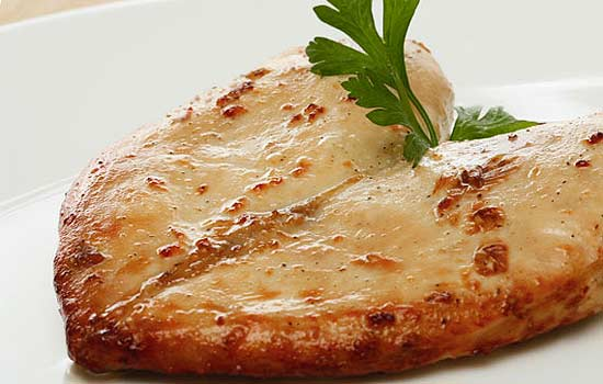 Куриные грудки, маринованные в ананасовом соке