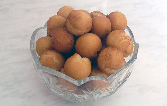 Пончики картофельные