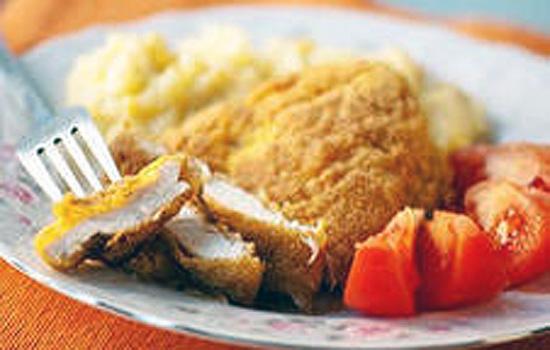 Картофельное пюре с куриным филе