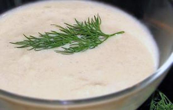 Суп — пюре из курицы