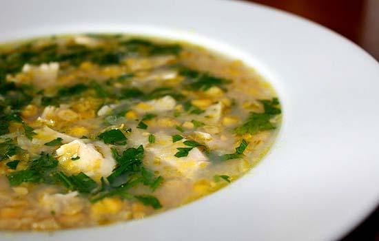 Овсяный суп диетический