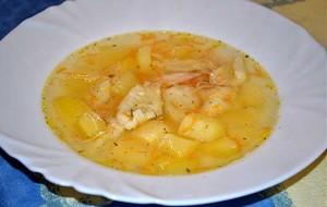Куриный суп с клецками