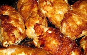 Куриные рулетики с начинкой из печени