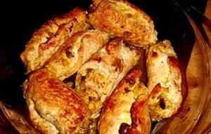 Мясные конверты с ореховой начинкой