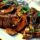 Говядина с горчицей и грибами